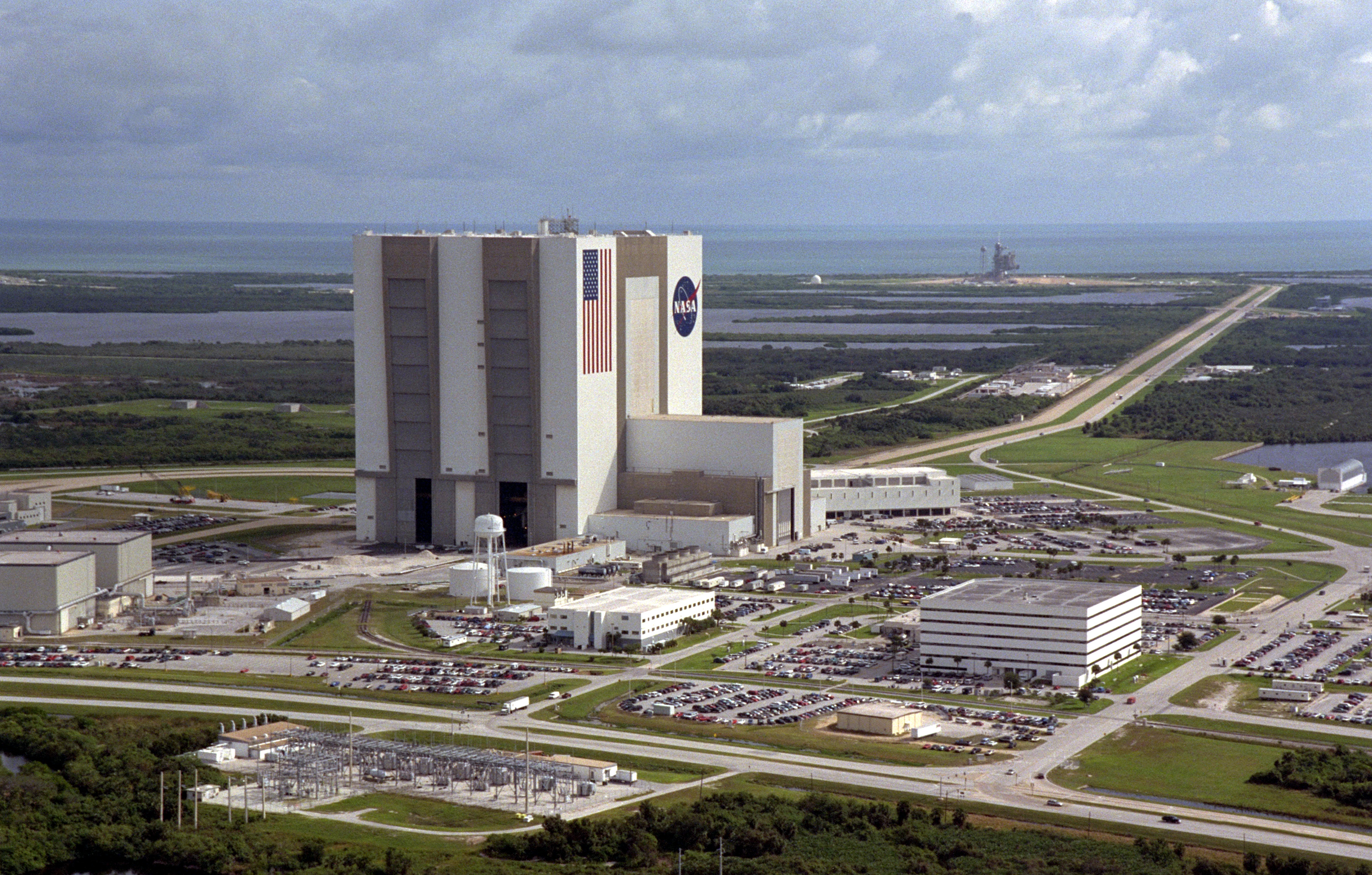 aerial-view-of-the-vehicle-assembly-building-at-kennedy-space-center
