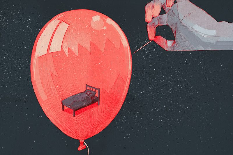 How a Lack of Dreams Could Be Messing with Your Mind
